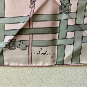 Burberry Accessories - EUC *Authentic* Burberry Silk Scarf